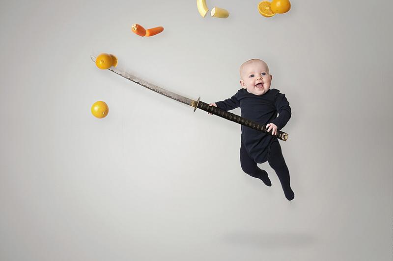 Bébé samouraï