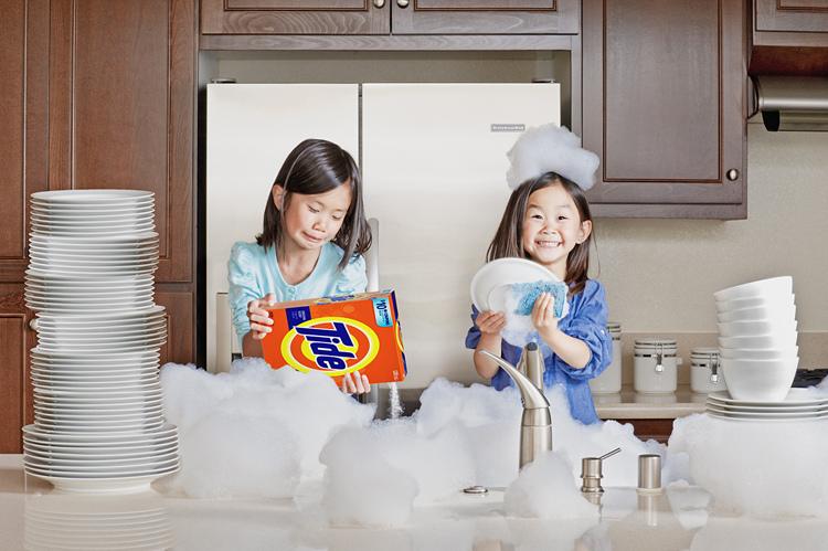 La vaisselle petites filles