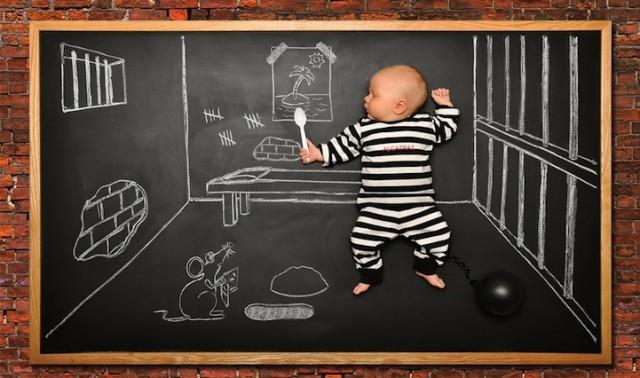 Bébé en prison