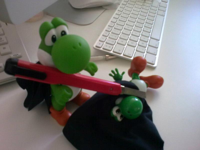 Yoshi en mode Dexter