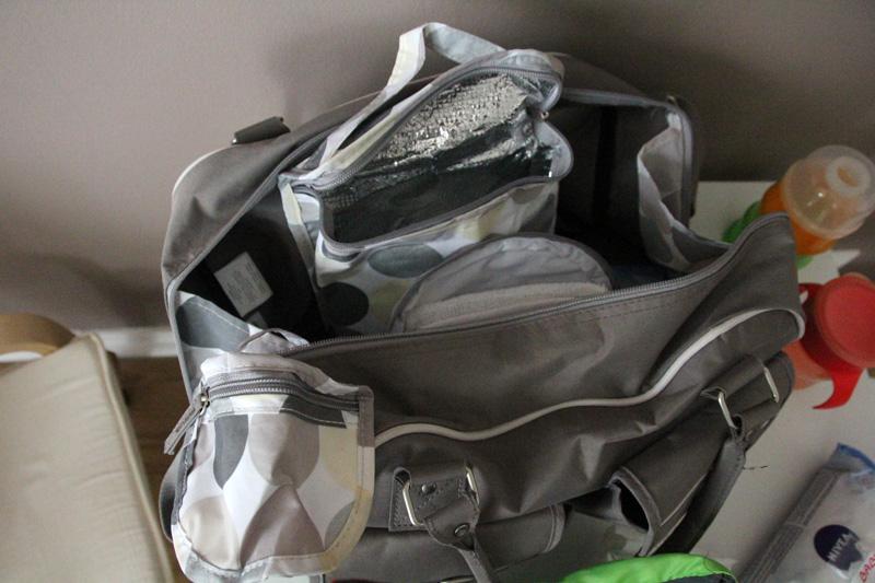 Intérieur du sac à langer