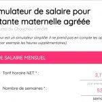 Le simulateur de calcul de salaire pour assistante maternelle !