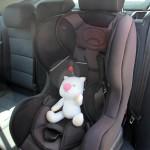Bébé, la voiture et la sécurité