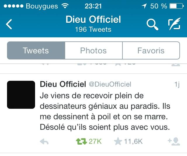 Dieu officiel