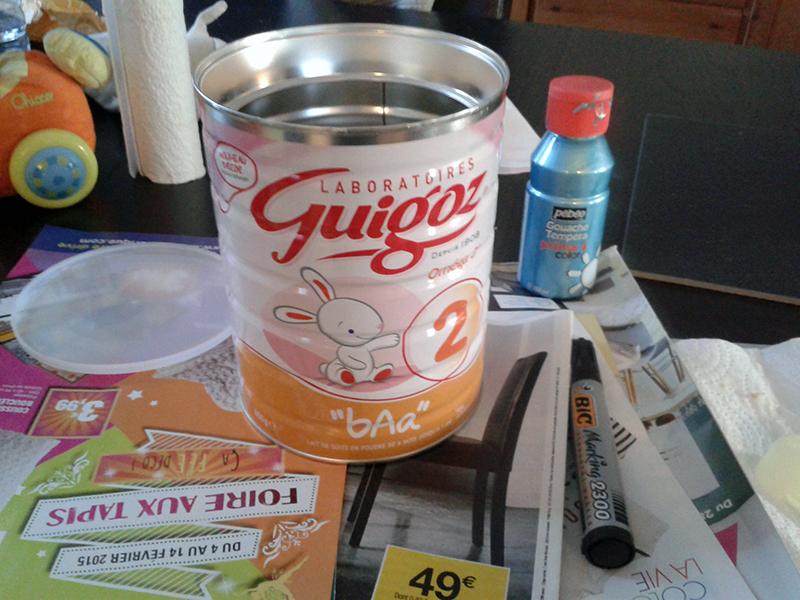 Boîte de lait Guigoz