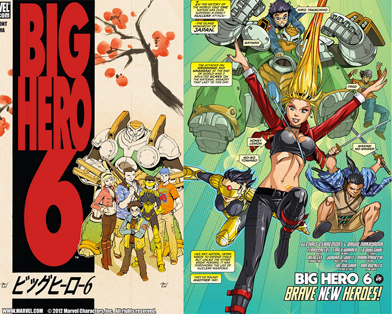 Comics Big Hero 6