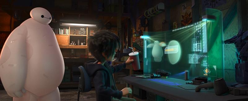 Ecran 3D Nouveaux Héros