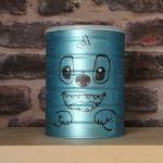 Transformer une boîte de lait en boîte à jouets Stitch