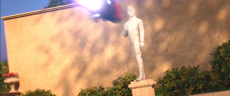Statue Hans dans Les Nouveaux Héros 6