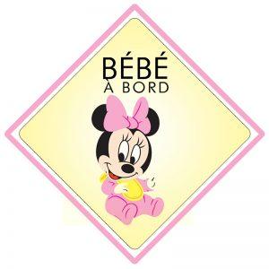 Bébé à bord Minnie