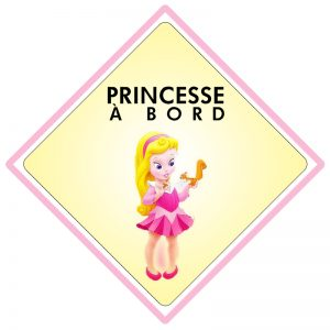 Bébé à bord Princesse
