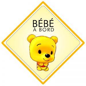 Bébé à bord Winnie