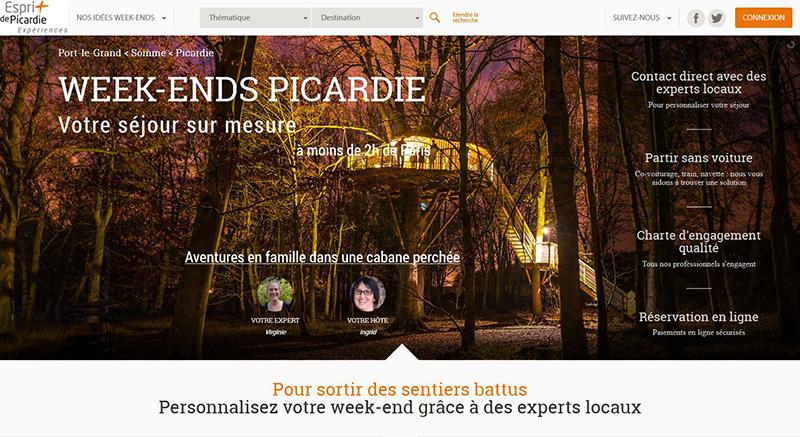 Site Esprit de Picardie