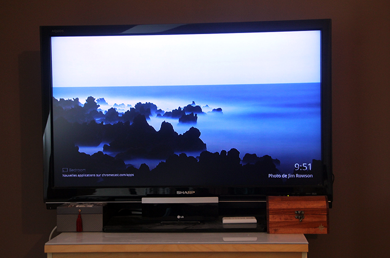 Background Chromecast