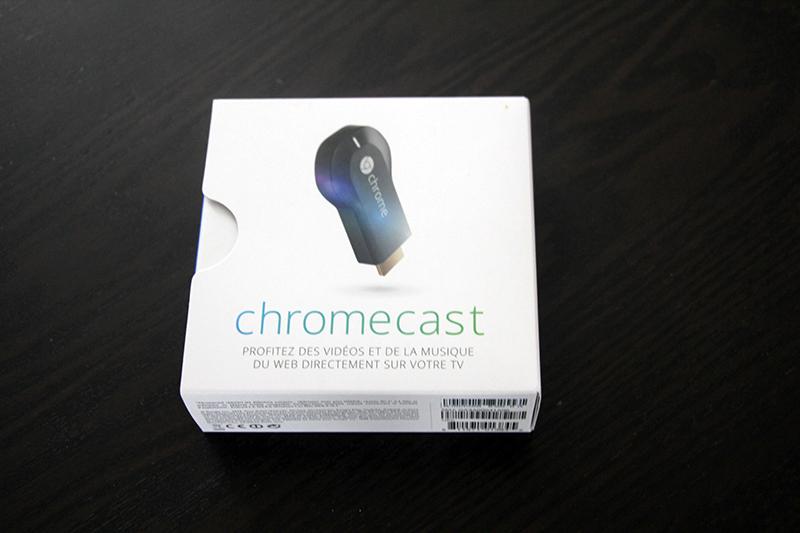 Boite Chromecast