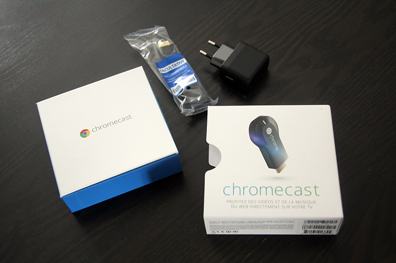 Déballage Chromecast
