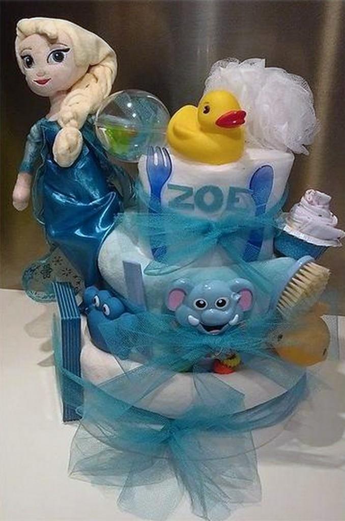 Diaper cake Frozen