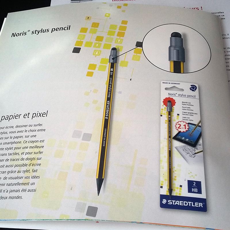 Staedtler noris pencil stylus