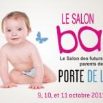 Salon Baby : 9, 10 et 11 octobre 2015 – 10 entrées à gagner