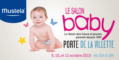 Salon du baby Mustela
