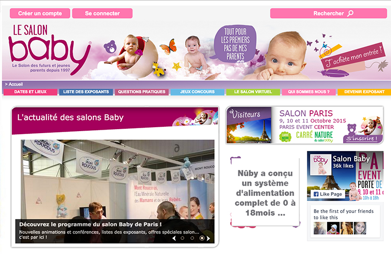 Salon Baby site