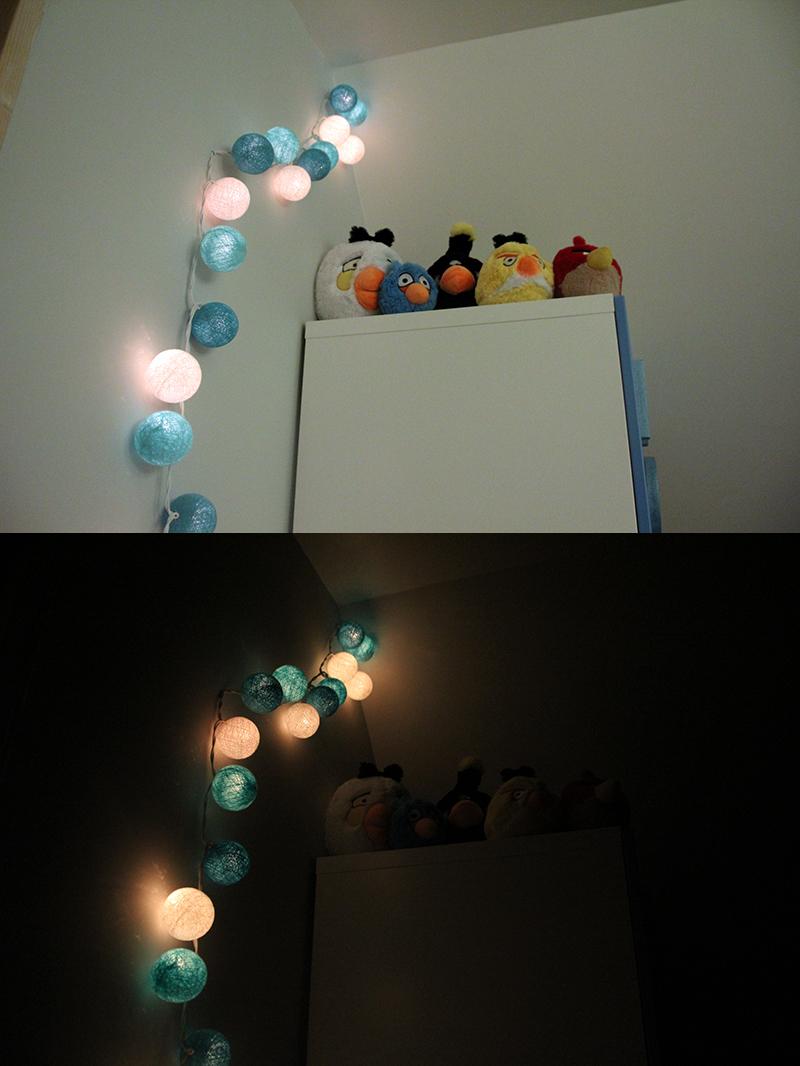 concours test de la guirlande lumineuse de la boutique place des m mes et 1 mobile. Black Bedroom Furniture Sets. Home Design Ideas