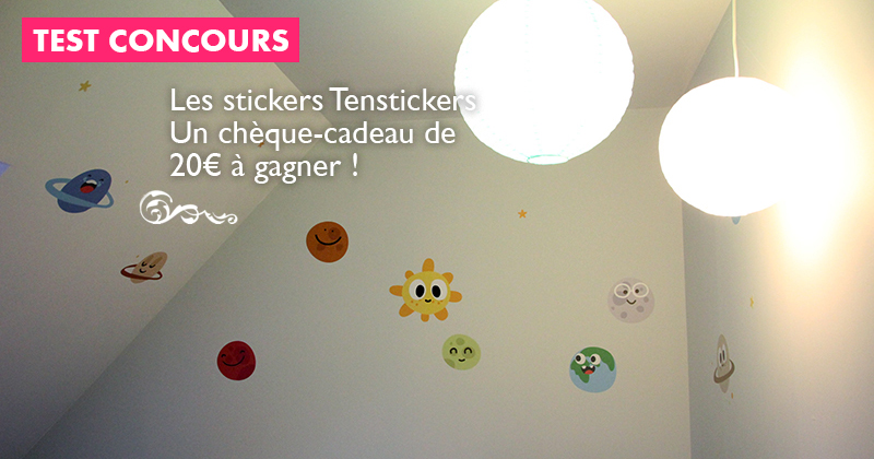 concours tenstickers boutique en ligne de stickers muraux personnalis s un ch que cadeau de. Black Bedroom Furniture Sets. Home Design Ideas
