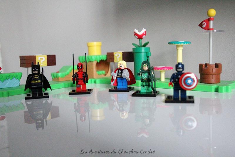 Heros lego mario