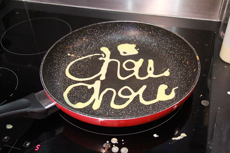 Crepe Art Chouchou