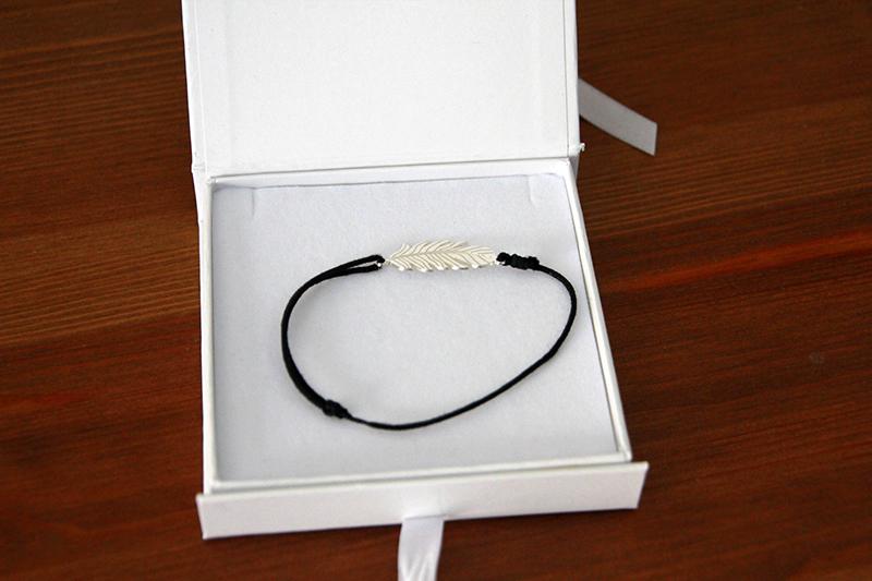 Bracelet plume