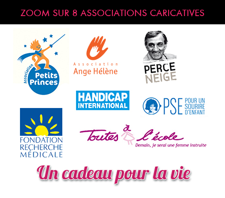 8 associations caritatives
