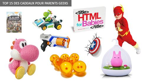 Top cadeaux enfants geeks