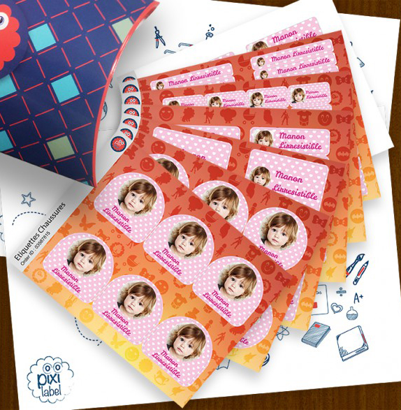 Pixibox Multi-Stickers