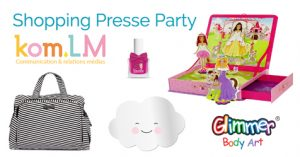 Shopping Presse Party