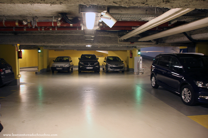 Parking Novotel