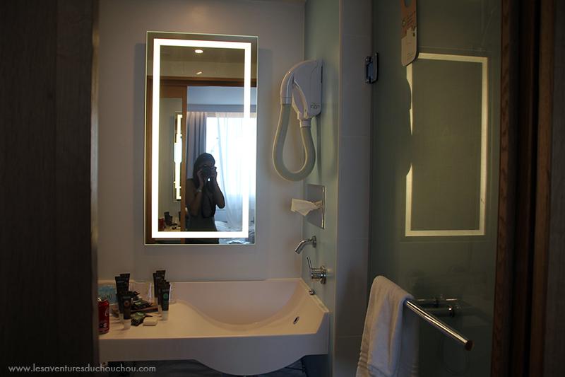 Salle de bain Novotel