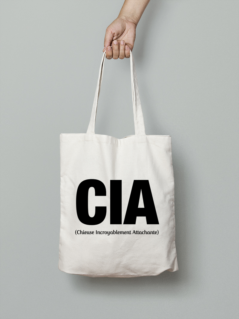 Tote bag CIA