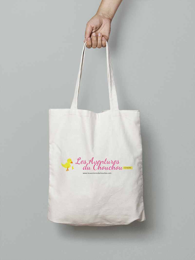 Tote bag logo blog
