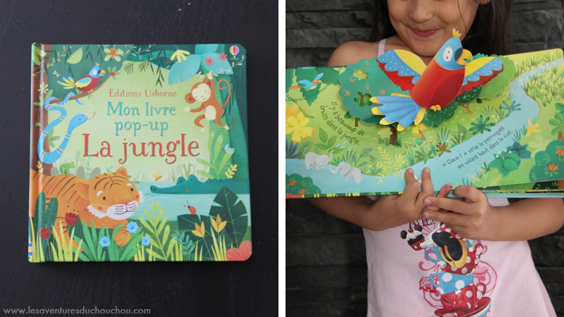 Mon livre pop-up 'La Jungle'