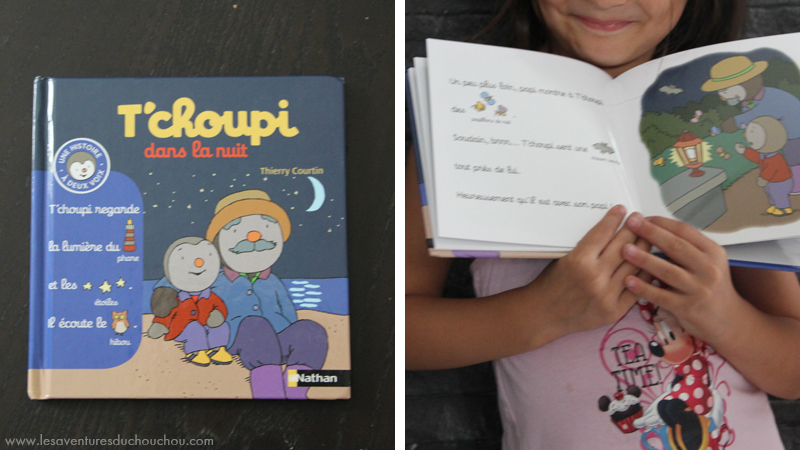 T'choupi double lecture