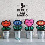DIY : Fleur mario en perles à repasser