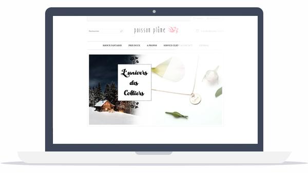 Boutique en ligne bijoux
