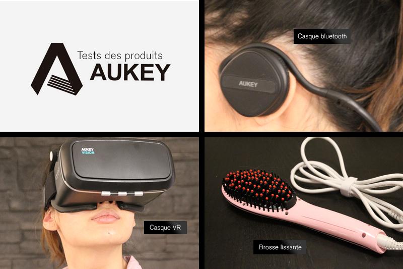 Tests produits Aukey