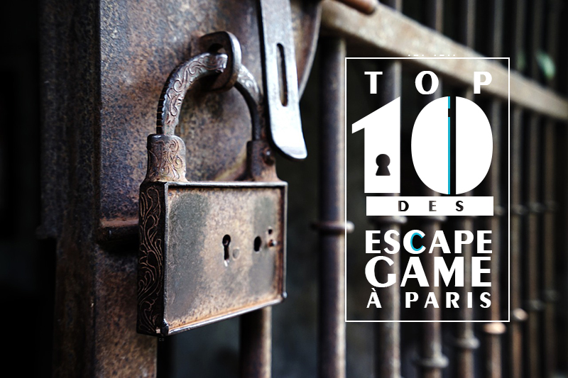 Top 10 escape game Paris