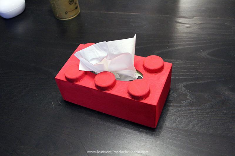 meilleur fournisseur comment trouver 60% pas cher DIY : une boîte à mouchoirs « LEGO » | Les Aventures du ...