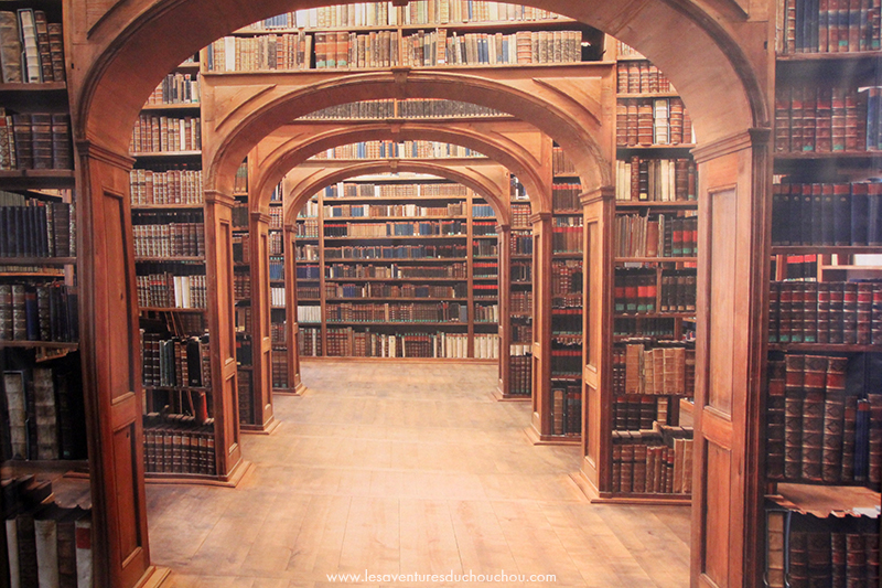 Fausse bibliothèque