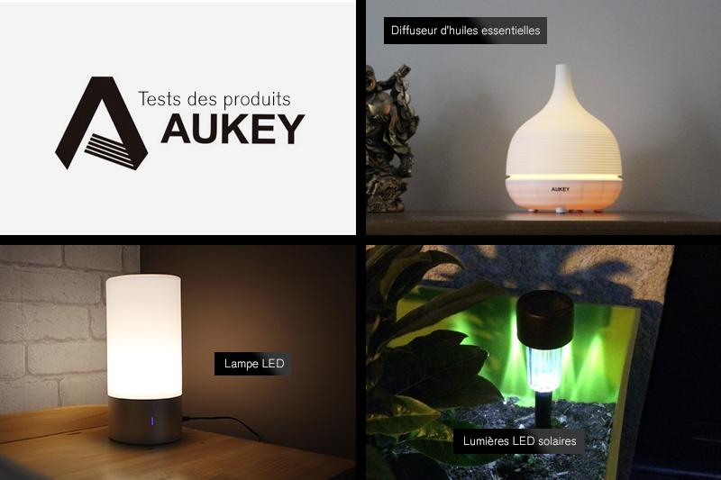Test produits Aukey