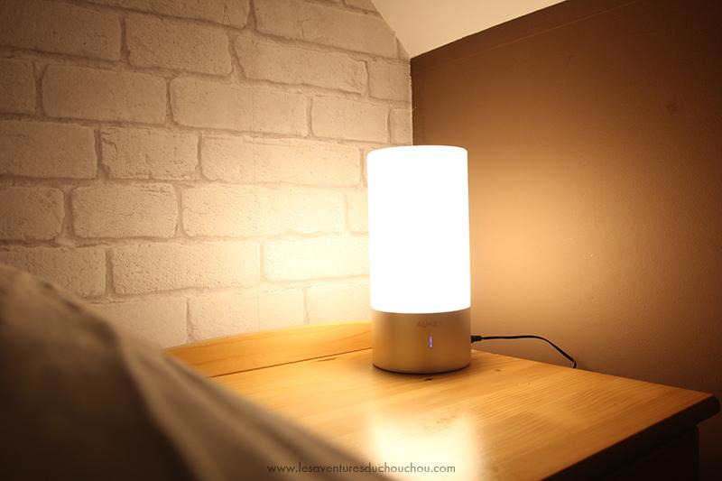 Lampe de chevet LED
