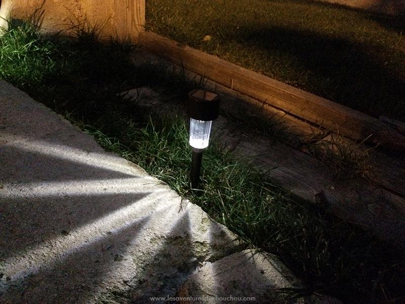 Lampe LED de jardin