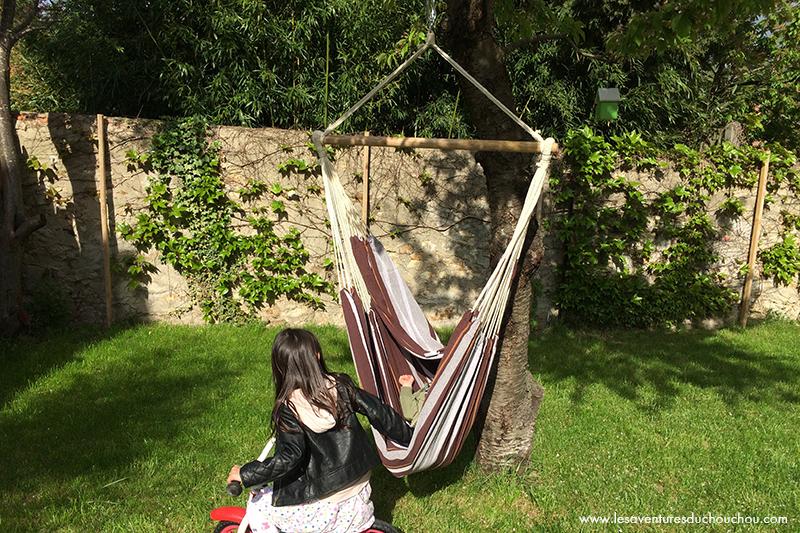 Hamac-Chaise jardin